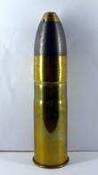 Obus De 37mm Fabrication Précoce Hotchkiss  - WW1  - INERTE - 1914-18