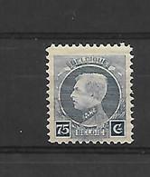 België  N° 213V3  Xx Postfris Retouche In C - Errors (Catalogue COB)