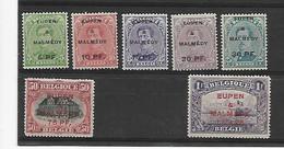 België Bezetting  N° OC 55/61  Cote 168 Euro  Xx Postfris - Unclassified