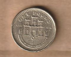GIBRALTAR  1 LIBRA 1999 Nickel Brass • 9.5 G • ⌀ 22.5 Mm KM# 869 - Gibraltar