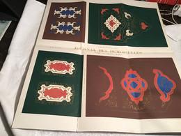 Journal Des Demoiselles 21e Année Paris Tapisserie Planche Et Impressions En Couleur Par Ernest Meyer Typographiques - Other Plans