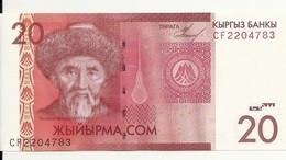 KIRGHIZISTAN 20 SOM 2009 UNC P 24 - Kyrgyzstan