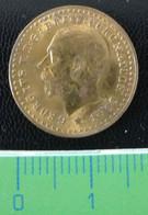 1911 - GEORGIVS V. D : G : BRITT : CORONATION COIN  En L Etat Sur Les Photos - Unclassified