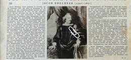 JACOB EDELHEER ( 1597 - 1657 ) ° LEUVEN + ANTWERPEN / HET STERCKXHOF / KUNSTLIEFHEBBER - Sin Clasificación