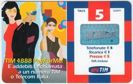 ITALY B-677 Prepaid Wind - Used - Public Practical Advertising