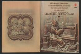 CARNET CROIX ROUGE De 1980 Neufs ** Vendu à La Valeur Faciale. TB - Red Cross