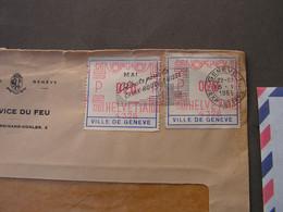 Geneve Marken 1951  Auf Brief - Cartas