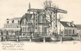 POMMEROEUL - Pont De Thulin - Carte Circulé En 1905 - Bernissart