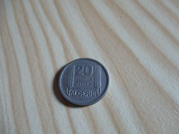 Algérie - 20 Francs Turin 1949.N°2531. - Algeria