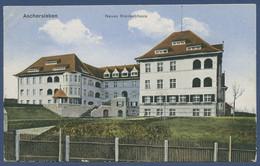 Aschersleben Neues Krankenhaus, Gelaufen 1919 (AK3205) - Aschersleben