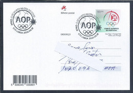 Postal Stationery Of Olympic Games With Obliteration Of 'Sport In Age Of Covid 19'. Tokyo 2020 Olympics. Covid 19 - Estate 2020 : Tokio