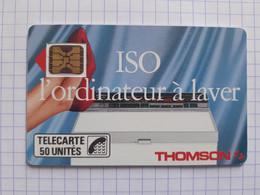F46B 50U SC4on Thomson  ISO L'Ordinateur à Laver - Trait Fin N°9104272 Petit Embouti - 1989