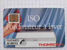 F46B 50U SC4on Thomson  ISO L'Ordinateur à Laver - Dos Glacé Trait épais N°9764 Impact - 1989