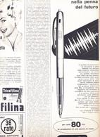 (pagine-pages)PUBBLICITA' BIC  Oggi1958/26. - Altri