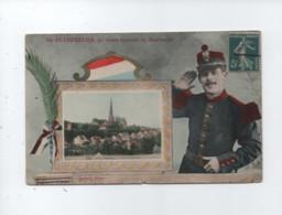 CPA  Abîmée -  De Pithiviers , Je Vous Envoie Ce Souvenir  ( Militaires , Militaire ) - Pithiviers