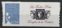 """N° 3729 B Cote 12 € """"Marianne De Luquet"""" Avec Vignette """"Le Timbre-Poste Tremplin De La Culture"""" Neufs ** MNH Qualité TB - Personalisiert"""