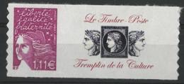 """N° 3729 D Cote 13 € """"Marianne De Luquet"""" Avec Vignette """"Le Timbre-Poste Tremplin De La Culture"""" Neufs ** MNH Qualité TB - Personalisiert"""
