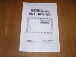 DOUGLAS DC 1 DC 2 DC 3 Avion Aviation Marcophilie Philatélie Cachets Aérophilatélie Aéropostale SABENA Liaison Postale - Other Books