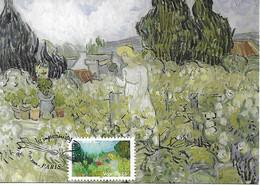 3871- Impressionniste, VAN GOGH VINCENT, Mademoiselle Gachet Dans Son Jardin  , 1er Jour, 21-01-2006 PARIS - MF - 2000-09