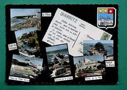 64 Biarritz ( Multivues, Blason, Baleine, Coquille Saint Jacques, Coquillage ) 001 - Biarritz