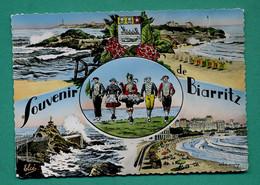 64 Biarritz ( Multivues, Blason, Baleine, Coquille Saint Jacques, Coquillage ) 002 - Biarritz