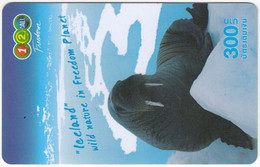 THAILAND H-872 Prepaid 1-2-Call - Animal, Walrus - Used - Tailandia