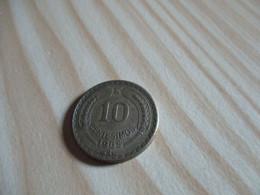 Chili - 10 Centesimos 1965.N°2579. - Chile
