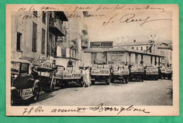 06 Alpes Maritimes Nice Caravane Publicitaire Soda Orange Crush Prise Devant La Fabrique Limonade Grima G.rené - Other