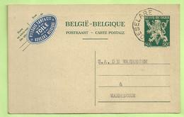 Entier Stempel ROESELARE  Avec Vignette LOUIS TANT / TOILE / ROULER (K6194) - Postcards [1934-51]