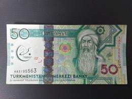 TURKMENISTAN 50 MANAT 2017 COMMEMORATIF - Turkmenistan
