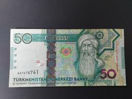 TURKMENISTAN 50 MANAT 2014 - Turkmenistan