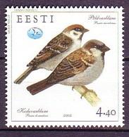 Estonia 2002 MiNr. 430 Estland Birds Vogel 1v MNH** - Estonia