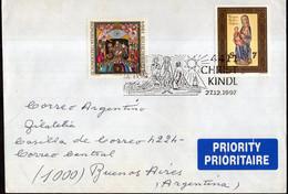 Österreich - Sonderpostmarke - Brief - 1997 - Christkindl - Weihnachten - A1RR2 - 1991-00 Cartas