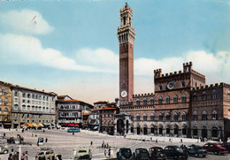 SIENA-IL CAMPO-CARTOLINA VERA FOTOGRAFIA- VIAGGIATA IL 16-7-1957 - Siena