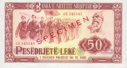 ALBANIA P. 45s 50 L 1976 UNC - Albania