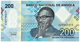 Angola - 200 Kwanzas - 04.2020 - Pick 160 - Unc. - Polymer - Série A - Dr. Agostinho Neto - Angola