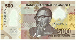 Angola - 500 Kwanzas - 04.2020 - Pick 161 - Unc. - Polymer - Série A - Dr. Agostinho Neto - Angola