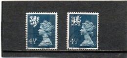 GRANDE-BRETAGNE   1974-75  Y.T. N° 739ar  741au  Oblitéré - Scotland