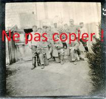 PHOTO ALLEMANDE - SOLDATS FETANT NOEL A SAINT SOUPLET SUR PY PRES DE AUBERIVE - DONTRIEN MARNE - GUERRE 1914 1918 - 1914-18