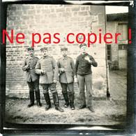 PHOTO ALLEMANDE - OFFICIERS A SAINT SOUPLET SUR PY PRES DE AUBERIVE - DONTRIEN MARNE - GUERRE 1914 1918 - 1914-18