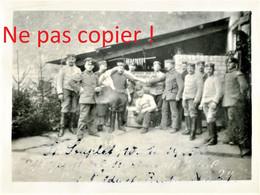 PHOTO ALLEMANDE - BOUCHERIE MILITAIRE A SAINT SOUPLET SUR PY PRES DE AUBERIVE - DONTRIEN MARNE - GUERRE 1914 1918 - 1914-18