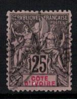 COTE D'IVOIRE                N° YVERT    8     (OBLITERE)   ( OB 9/59 ) - Used Stamps