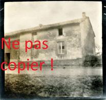 PHOTO ALLEMANDE - UNE MAISON A SAINT SOUPLET SUR PY PRES DE AUBERIVE - DONTRIEN MARNE - GUERRE 1914 1918 - 1914-18