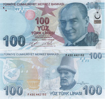 TURKEY        100 Türk Lirası        P-226[d]       2009 (2019)        UNC  [sign. Uysal - Küçük] - Turkey