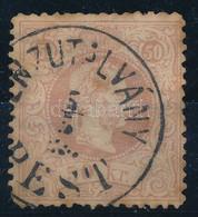"O 1867 50kr ""(PÉ)NZUTALVÁNY PEST"" (180.000) (elvékonyodás, Barnulás / Thin Paper, Brownish) - Zonder Classificatie"