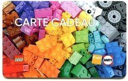 @+ Carte Cadeau - Gift Card : FNAC / DARTY  : LEGO. - Carta Di Fedeltà E Regalo