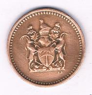 1 CENT 1970 RHODESIE /2714/ - Rhodesia