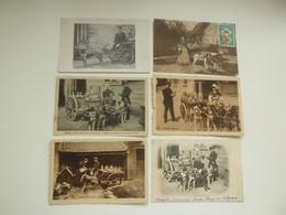 Beau Lot De 10 Cartes Postales De Belgique  Laitière Flamande  Attelage De Chien  Mooi Lot Van 10 Postkaarten Melkvrouw - 5 - 99 Postkaarten