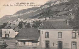 La Gare D'Aguessac Et Le Village De Paulhe - Other Municipalities