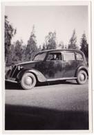 Photo Originale : Automobile à Identifier : Yvonne Au Volant : Kouribgha - Maroc : 1939 - Cars